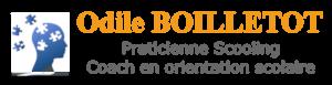 Logo odile boilletot - praticienne scooling & coach en orientation scolaire